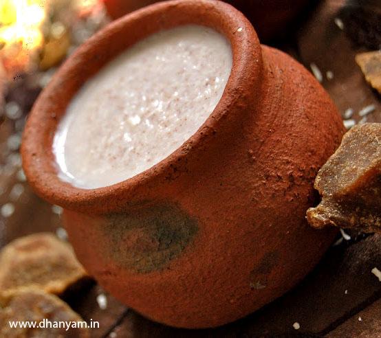 Dhanyam recipe of the month ragi koozh dhanyam ragi forumfinder Gallery
