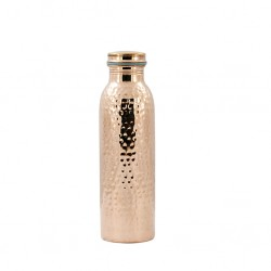 Copper Hammered Joint Free Bottle - Ts