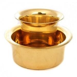 Brass Dabara Set -ch