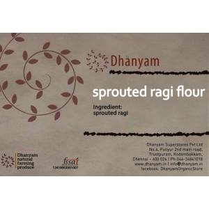 Sprouted Ragi Flour 500g Dh