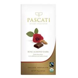 Rose Almond Dark Chocolate Pc