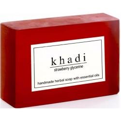 Strawberry Soap Khadi