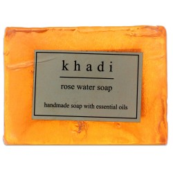 Rose Water Soap Khadi