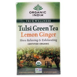 Tulsi Lemon Ginger Teabag
