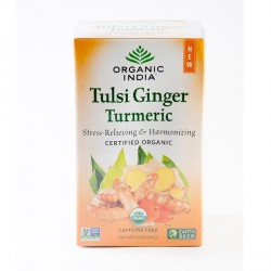 Tulsi Ginger Turmeric Tea Bag