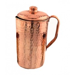 Copper Hammered Jug - No4 - Ts