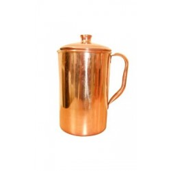 Copper Plain Jug - No4 - Ts