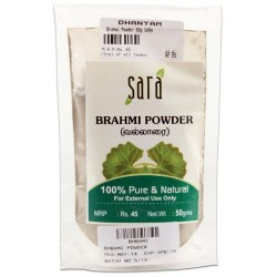 Brahmi Powder 50g Sara