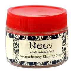 Aromatherapy Shaving Soap 50g Neev