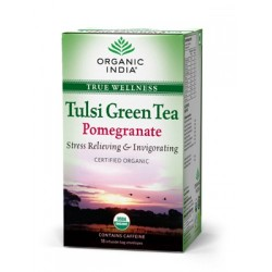 Tulsi Green Tea Pomegranate