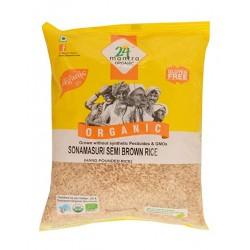Sonamasuri Semi Brown Rice 1kg 24l